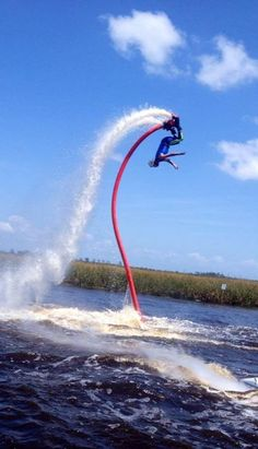 Flyboarding at Sportsability Event in Florida