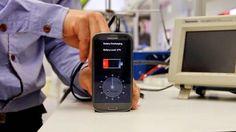 Prototipe baterai dapat mengisi ulang hanya dalam 30 detik | Ahmad Ridoan