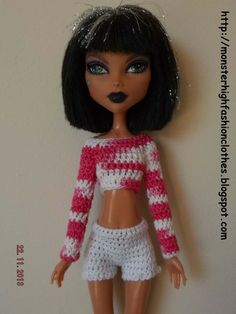 Ropa Monster High s130 von My Monster High boutique auf DaWanda.com