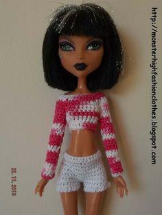 Ropa Monster High s130 von My Monster High boutique auf DaWanda.com