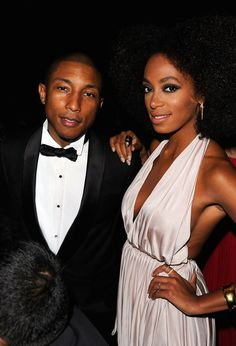 Pharrell Williams and Solange Knowles Photos Photos: Katharina Harf Hosts DKMS' Annual Gala: Linked Against Leukemia Honoring Rihanna & Michael Clinton At Cipriani Wall Street Celebrity Skin, Celebrity Style, Billboard Women In Music, Ebony Love, Solange Knowles, Pharrell Williams, Celebs, Celebrities, Her Style