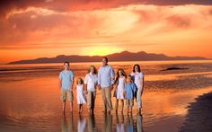 Family Pictures Great Salt Lake
