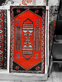 Anatolian carpets are in grand bazaar. ISTANBUL /TURKEY