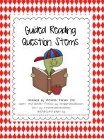 Higher order question stems for your reading table $