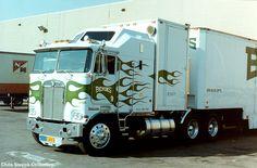 on a t-shurt ! Big Rig Trucks, Semi Trucks, Cool Trucks, Custom Big Rigs, Custom Trucks, Kenworth Trucks, Peterbilt, 10 4 Good Buddy, Cab Over
