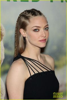 Amanda Seyfried Rocks Cornrows at 'Ted 2' NYC Premiere: Photo #3401359. Amanda Seyfried tries up a different hairstyle while attending the premiere of her new movie Ted 2 held at the Ziegfeld Theater on Wednesday night (June 24) in New…