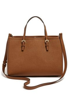MICHAEL Michael Kors 'East/West - Medium' Saffiano Leather Tote