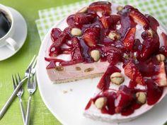 Kochbuch-Cover für Erdbeer-Torten