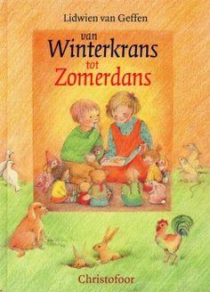 Boek 'Van winterkrans tot zomerdans' van Lidwien van Geffen.
