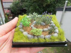 Image result for miniature garden scenes