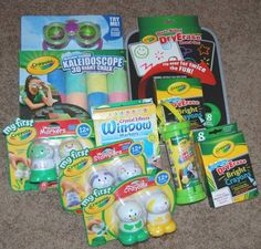 Awesome Giveaway from pinkdandychatter.com   Inside the crayon box with crayola