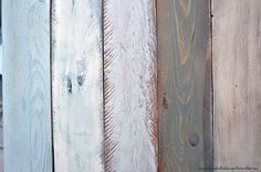 Tutorial how to paint wood with aged effects Hand Painted Furniture, Recycled Furniture, Diy Painting, Painting On Wood, Furniture Makeover, Diy Furniture, Vintage Wood, Painting Techniques, Chalk Paint