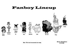 Fanboy Lineup_Revised by Fred Seibert, via Flickr