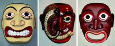 The most obvious of Sri Lanka's many crafts are the gruesome masks.