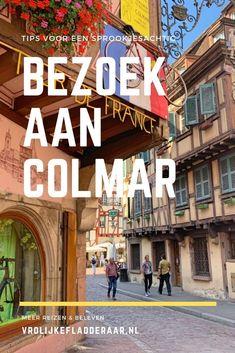 Het stadje Colmar is een bezoek meer dan waard! Op vakantie in de Elzas? Of kom je hier langs op doorreis, vanuit Duitsland of Frankrijk? Stop dan zeker een dagdeel of een dagje. Maak een rondvaart, bewonder de gekleurde vakwerkhuizen en geniet van dit sprookjesachtige plaatsje. In de blog: tips voor je bezoek. Blog Tips, Broadway Shows, Places, Travel, Viajes, Destinations, Traveling, Trips, Lugares