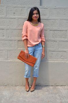 Resultado de imagen para peach outfit