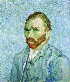 """Vincent van Gogh - """"Self Portrait"""" - 1889"""