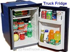 RoadPro - Built-In 12 Volt DC Refrigerator with Freezer - TF49