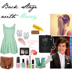 Back Stage with Harry by livi-horan-1d on Polyvore