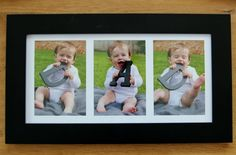 DAD DIY frame . . . one kid per letter; good fathers day idea