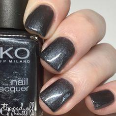 Kiko Milano Nail Lacquer Swatch 516 Metallic Stone