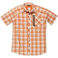 Men's Nice Catch Shirt, Orange, M