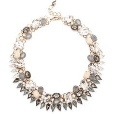 Sole Societycrystal And Stone Statement Collar