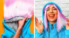 Diy Crafts For Tweens, Diy Crafts Life Hacks, Fun Diy Crafts, Diy For Kids, 5 Min Crafts, 5 Minute Crafts Videos, Craft Videos, Everyday Hacks, Amazing Life Hacks
