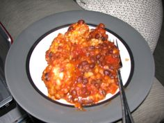 Baked beans, British recipes and Lasagna on Pinterest