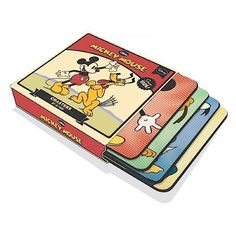Mickey And Friends Coasters Set #remembering #1928 - available now at Thenadays.com