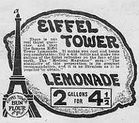 eiffel tower lemonade