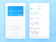 Mobile Payment 2 by Wenjun #Design Popular #Dribbble #shots