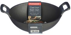 Typhoon Cast Iron Balti Dish 20 x 25.5 cm Induction Friendly Oven Safe Dish in Home, Furniture & DIY, Cookware, Dining & Bar, Tableware, Serving & Linen   eBay