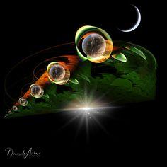 Alternate Universe Diana, Art Beat, Red Dots, Hush Hush, Fractals, Geometry, Sci Fi, Universe, Fantasy