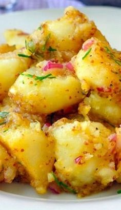 Warm Honey Dijon Potato Salad