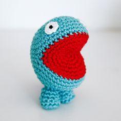 #crochet monster
