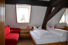 Zimmer mit rustikalem Flair