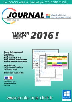 Journal One Click : cahier journal