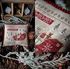 Your place to buy and sell all things handmade Geek Cross Stitch, Cross Stitch Finishing, Cross Stitch Samplers, Cross Stitch Charts, Counted Cross Stitch Patterns, Cross Stitch Designs, Cross Stitching, Cross Stitch Christmas Ornaments, Christmas Cross