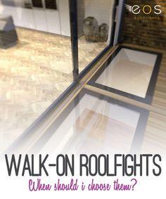 Walk On Rooflights, WalkOn Glass Skylights and Glass Walkways
