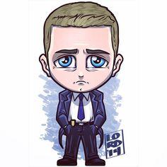 Gotham: James Gordon!! Great casting for a young Commish!! ✏️✏️✏️✏️ #dc #gotham…