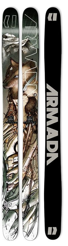 Armada specializes in free-ride lifestyle skis, ski jackets, pants, & clothing. With a men's and women's line that is more sought after than ever, you'll want to get in on their gear. Ski And Snowboard, Snowboarding, Snowboard Design, Baseball Training, Ski Gear, Mens Skis, Ski Boots, Snow Skiing, Sports