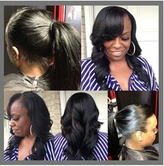 half up half down black hairstyles : Sew in Hairstyles Possibility or winter to grow cut back out More