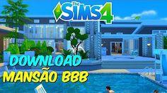 mansões no the sims 4 - YouTube