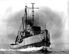 Navy rescue tug from WWII.
