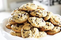 My pudding chocolate chip cookies