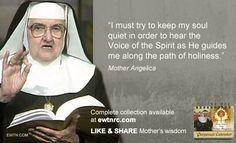 #ThusdayThought #MotherAngelica #EWTN #Catholic