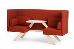 TOOtheZOO's line of multifunctional benches called TOOaPICNIC