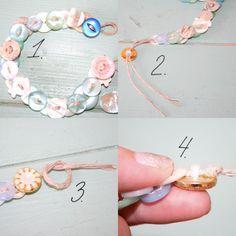 Make A Button Necklace | Fabrics-Store.com - The Thread