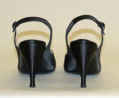 Department Store: Saks Fifth Avenue (American, founded 1924) Date: 1955–60 Culture: AmericanEvening shoes